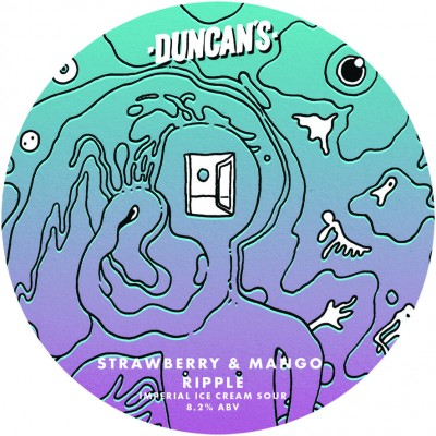 Duncans Strawberry & Mango Imperial Ice Cream Sour