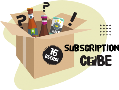 16 CAN BEER SUBSCRIPTION CUBE