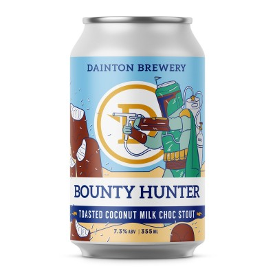 Dainton Bounty Hunter Toasted Coconut Milk Choc Stout