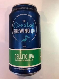 Coastal Brewing Co Cellito Hazy IPA
