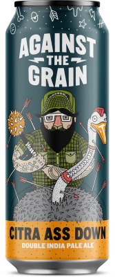 Against The Grain Citra Ass Down Double IPA