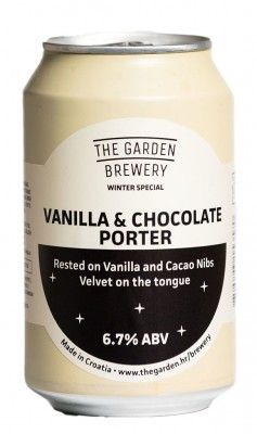 The Garden Vanilla and Choc Porter