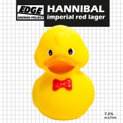 Edge Brewing Hannibal Imperial Red Lager