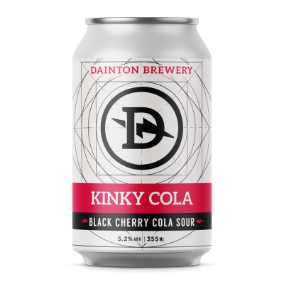 Dainton Kinky Cola Black Cherry Cola Sour