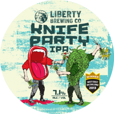 Liberty Knife Party IPA