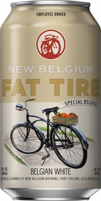 New Belgium Fat Tire Belgian White Ale