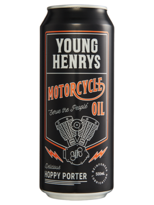 Young Henry's Motorcycle Oil Hoppy Porter