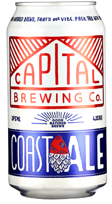 Capital Brewing Coast Ale