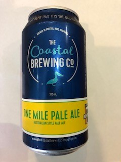 Coastal Brewing Co One Mile Pale Ale