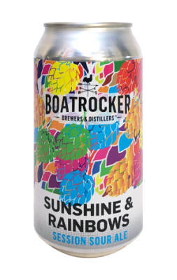 Boatrocker Sunshine & Rainbows Session Sour Ale
