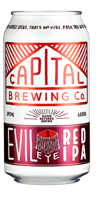 Capital Brewing Evil Eye Red IPA