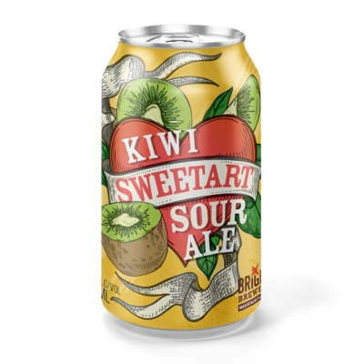 Bright Brewery Kiwi Sweetart Sour Ale