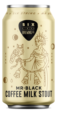 Six Strings Mr Black Coffee Milk Stout