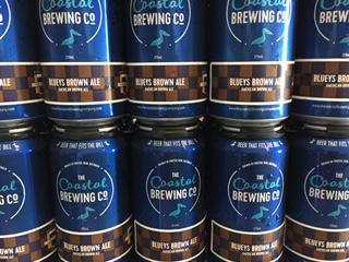Image of Coastal Brewing Co Blueys Brown Ale