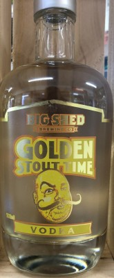 Big Shed Golden Stout Time Vodka
