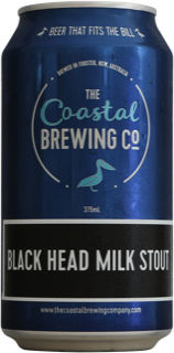 Coastal Brewing Co Black Head Milk Stout