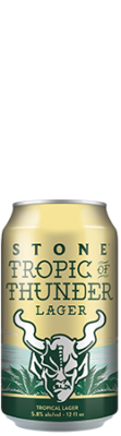 Image of Stone Tropic of Thunder Lager